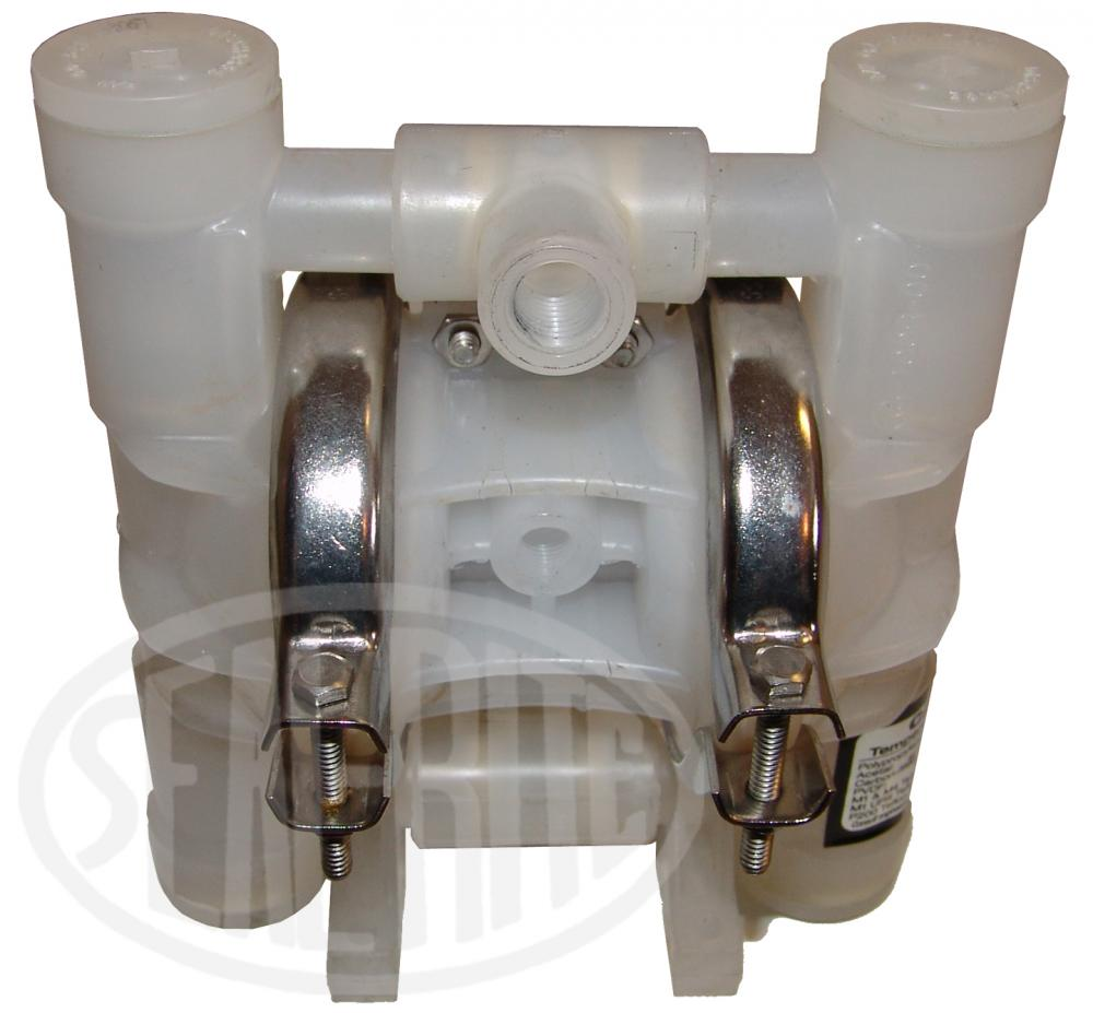 "1/4"" 5gpm Wilden air-operated, dual-diaphragm pump"